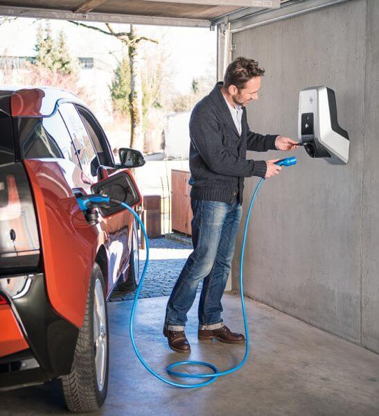 Elektromobilität - Steckdose für E-Autos