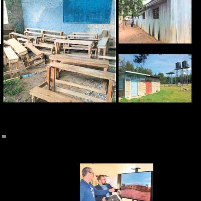 Vistacon Energietechnik hilft bei Schulbau in Kenia